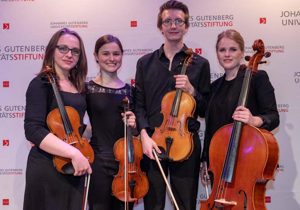 Glücksklee-Quartett